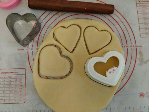 爱心小甜饼的做法图解8