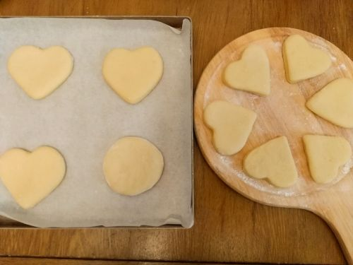 爱心小甜饼的做法图解9
