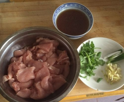 东北锅包肉的做法图解1