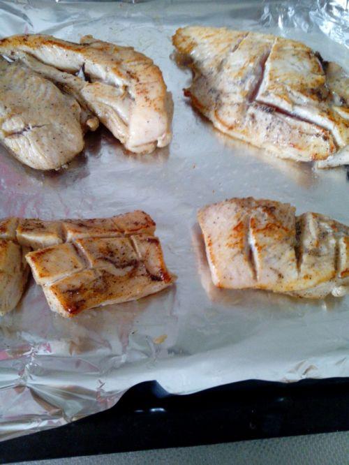 鸡胸肉沙拉的做法图解3