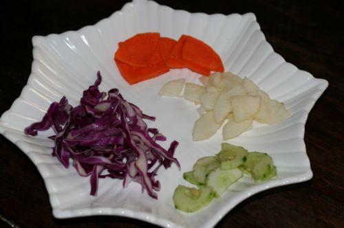果汁蔬菜沙拉的家常做法