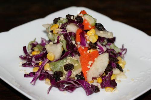 果汁蔬菜沙拉的做法图解5