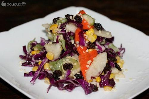 果汁蔬菜沙拉