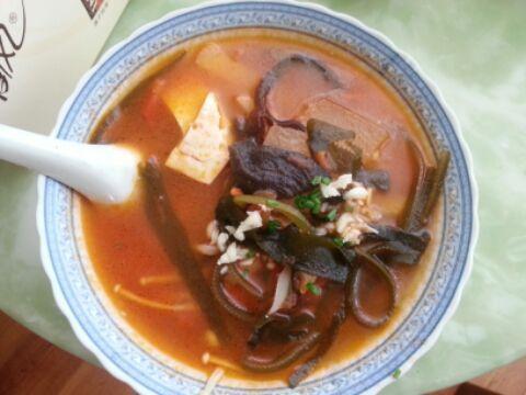酸甜蔬菜茄汁浓汤的家常做法
