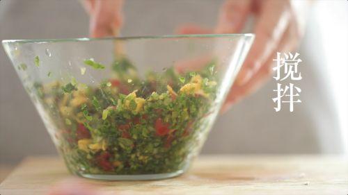 香蒜小番茄牛排卷的做法图解8