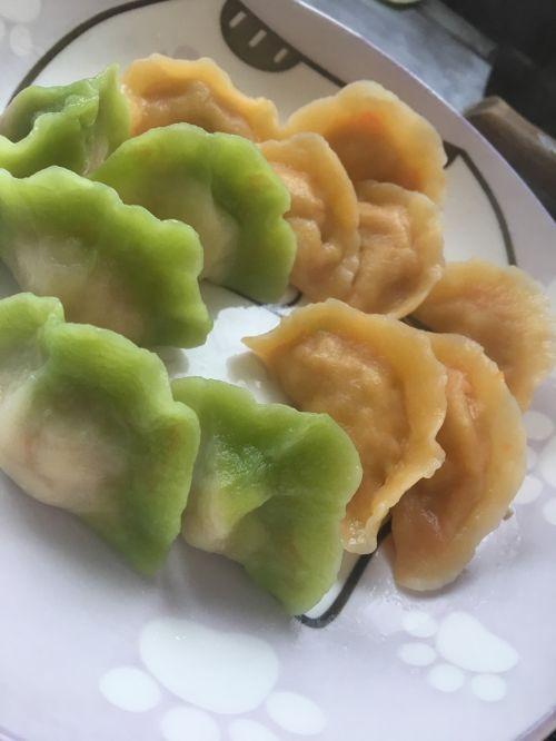 彩色小水饺的做法图解6