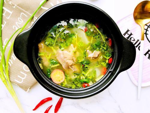秋冬食补养生羊肉汤的做法图解3