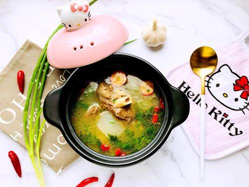 秋冬食补养生羊肉汤的做法图解4