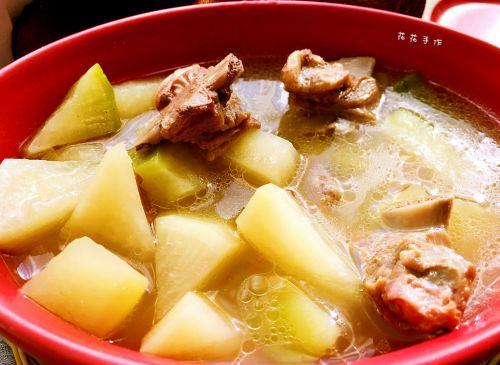 羊排萝卜汤的做法图解5