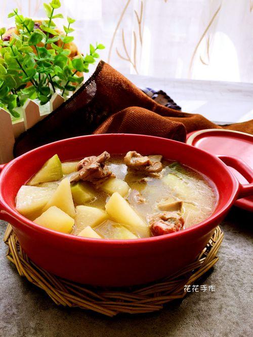 羊排萝卜汤的做法图解6