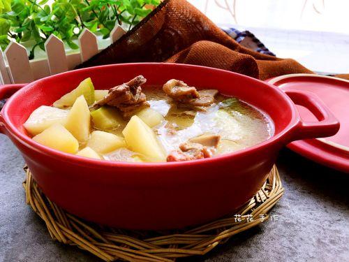羊排萝卜汤的做法图解7