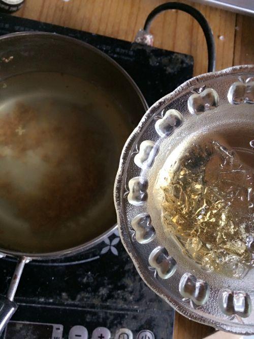 椰汁桂花水晶糕的做法图解4