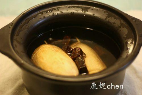 红糖桂花糯米藕的做法图解5