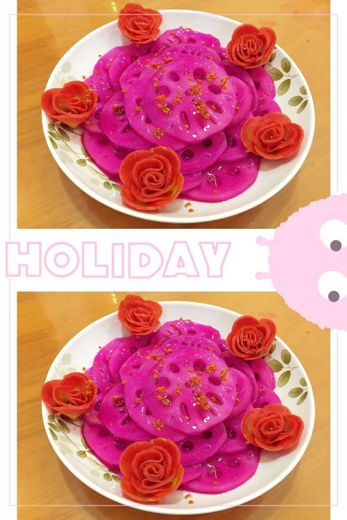 桂花胭脂藕的做法图解6