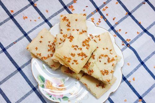 桂花糕(烤箱版)