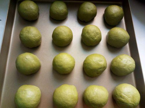 抹茶红豆包的做法图解9
