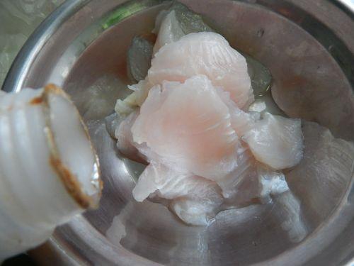 鱼片蒸鸡蛋的做法图解2
