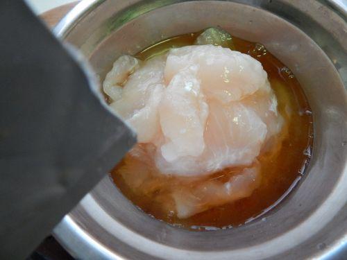 茄汁鱼块的做法图解3