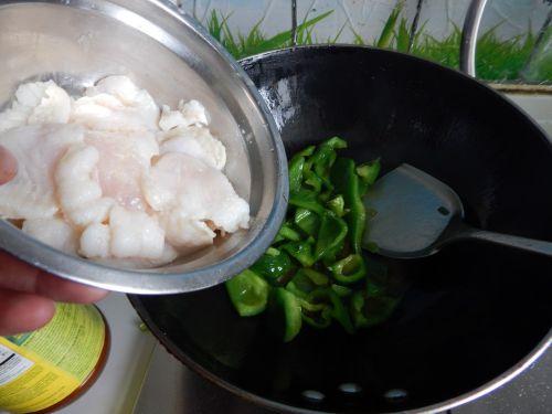 菜椒炒鱼片的做法图解11