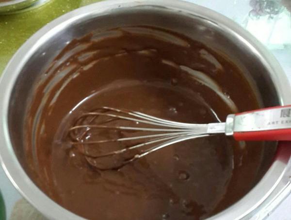 淋面南瓜巧克力慕斯