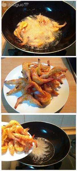 泰式甜辣虾的做法图解3