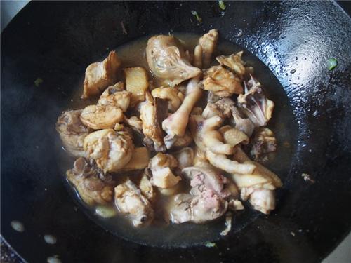 土豆鸡块的做法图解7