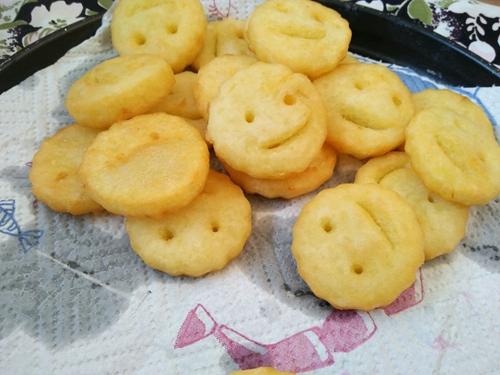 笑脸土豆饼的做法图解10