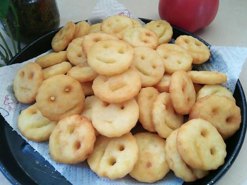 笑脸土豆饼的做法图解12