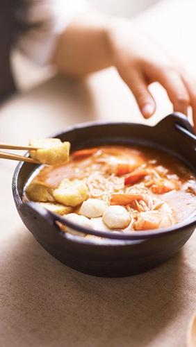 鲜虾金针菇沙茶荞麦面的做法图解8