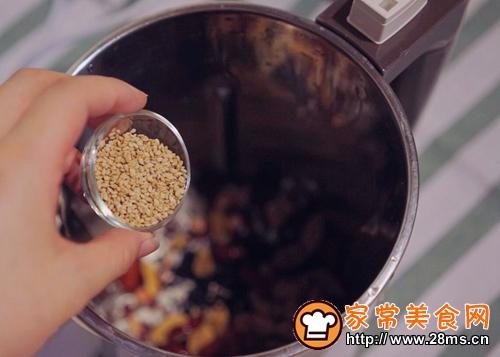 红豆黑米糊的做法图解4