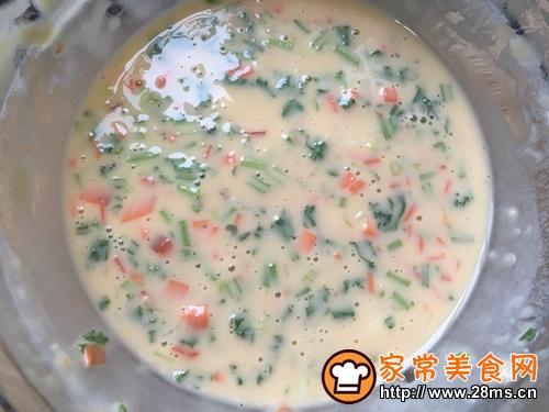 胡萝卜香菜鸡蛋饼的做法图解10
