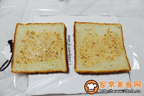 蔬菜三明治的做法图解4