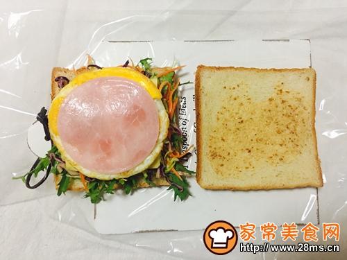 蔬菜三明治的做法图解10