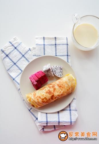 快手早餐-香酥手抓饼的做法图解7