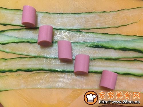 芝士黄瓜卷棒棒糖的做法图解2