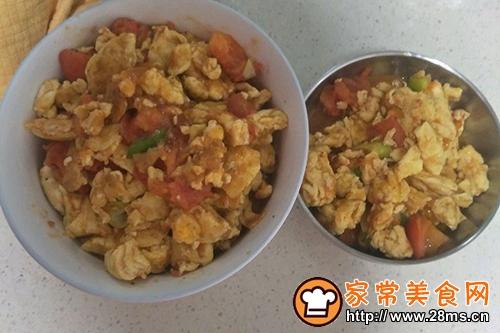火腿西红柿炒蛋