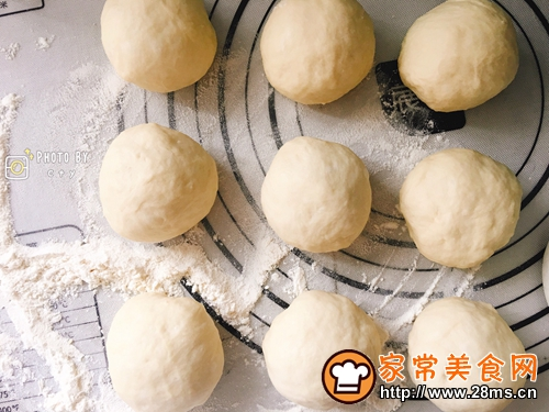 会拉丝的火腿芝士熔岩面包的做法图解8