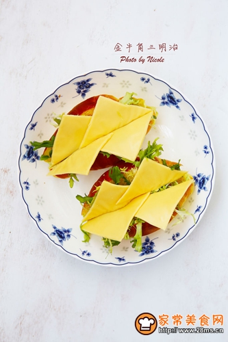金牛角三明治的做法图解4