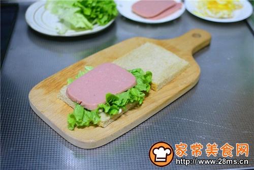火腿三明治的做法图解6