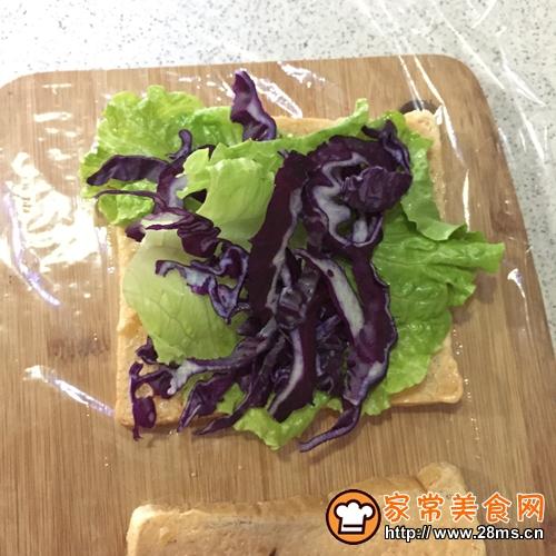 吐司火腿三明治的做法图解7
