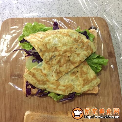 吐司火腿三明治的做法图解8