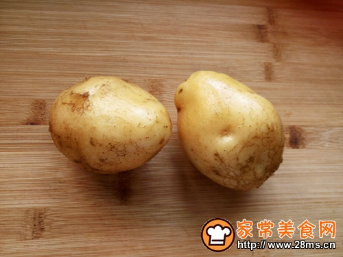 彩蔬土豆饼的做法图解1