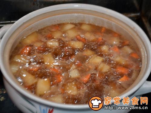 胡萝卜冬瓜烧牛肉的做法图解5