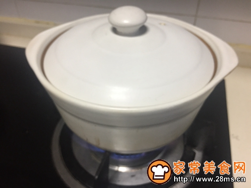 鸡丝菌菇青菜粥的做法图解9