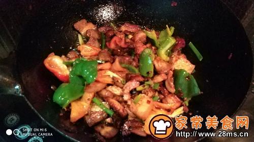 香喷喷的回锅肉的做法图解10
