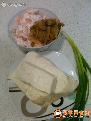 鱼泡豆腐的家常做法