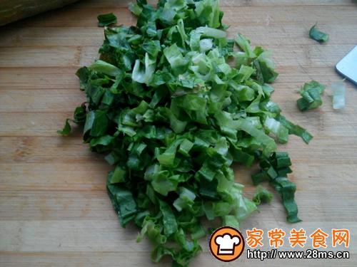 麻汁拌莴苣叶的家常做法