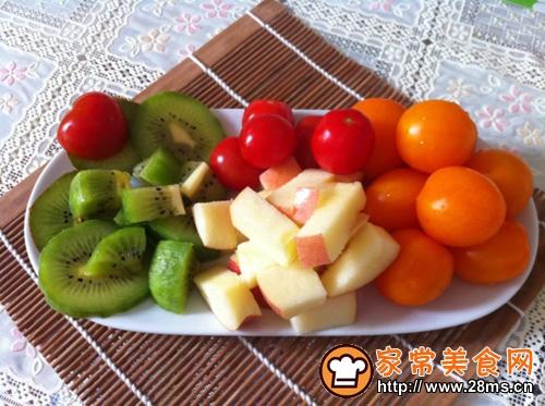 简单水果拼盘的家常做法