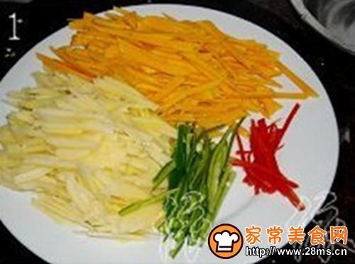南瓜土豆丝的家常做法