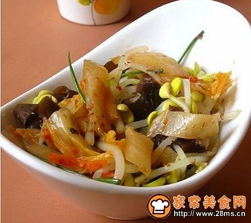 韩式拌豆芽